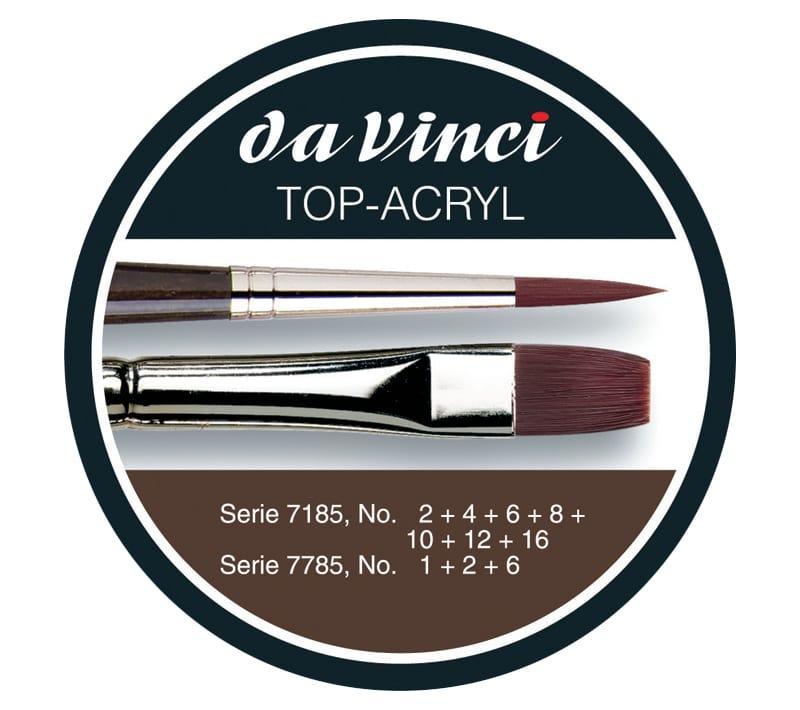 da Vinci Set Top Acryl - Penselen.nl
