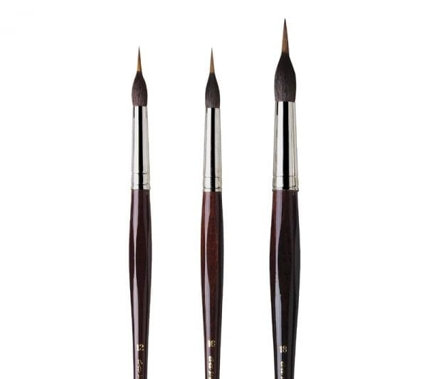 da Vinci KOLINSKY Marterhaar Aquarel Penseel Serie 5519