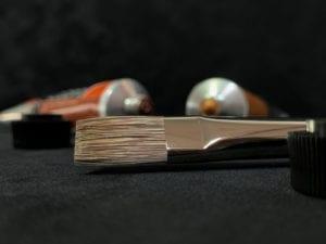 da Vinci Grigio Penselen Set Watervermengbaar Olieverf Acryl Rond Plat Kattentong Waaier Spalter