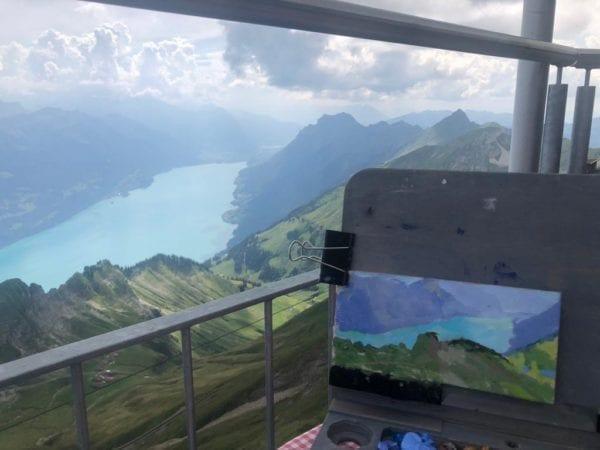 pleinair uitzicht
