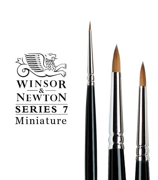 Winsor Newton Serie 7 Miniatuur Aquarel Penselen